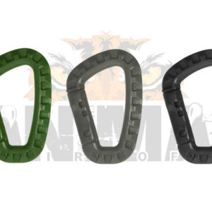 Mosquetones plastico s $1500