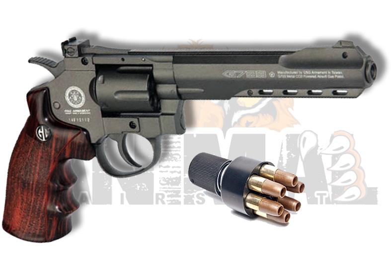 Revolver G&G G733 Bk $ 93900