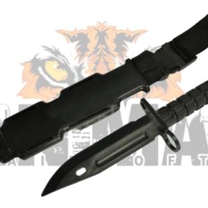 63. Cuchillo M9 con cinturón, color negro