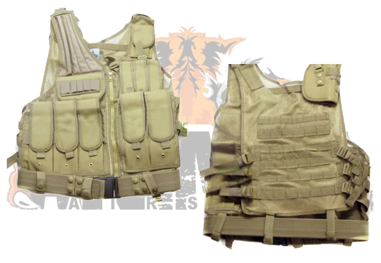 Vest Black Hawk Down c_holster de pistola, color CB