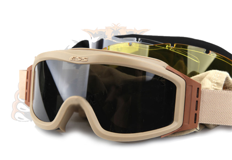 Goggles marca ESS  color tan