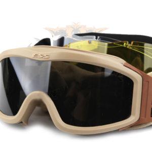 Goggles marca ESS  color tan