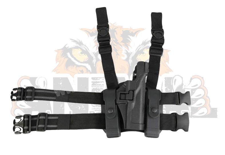 Holster táctico para Glock  color negro