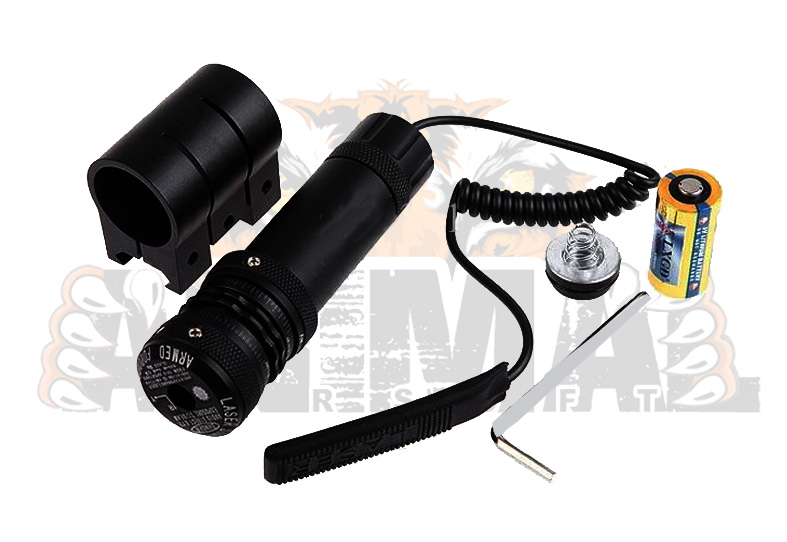 Red Laser Dot Sight Mount Set
