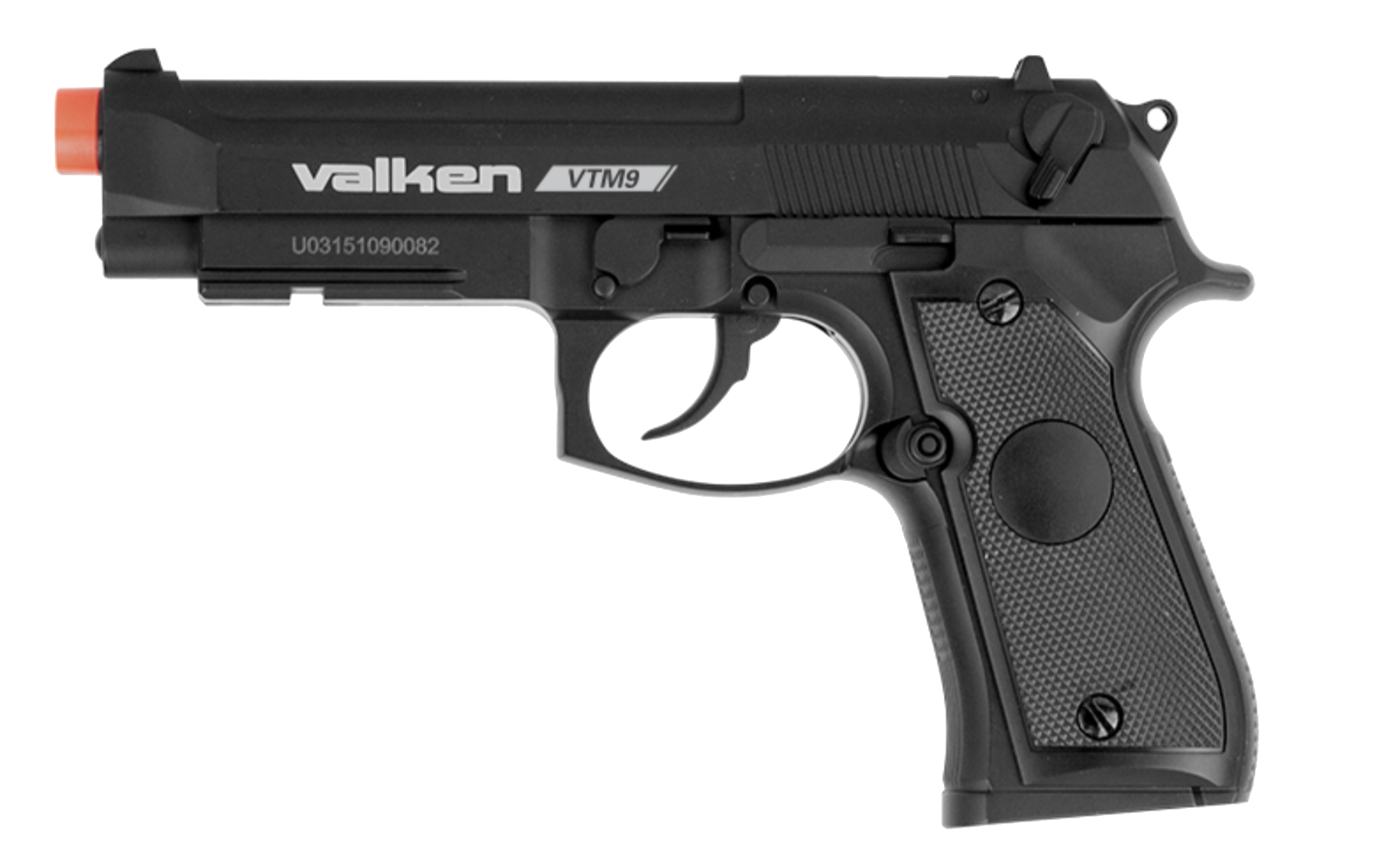 Pistola Valken de polmero VTM9