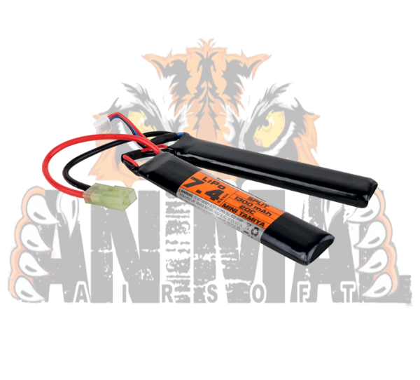 Battery - V Energy LiPo 74V 1300mAh 20C 2 Split- 19000 f
