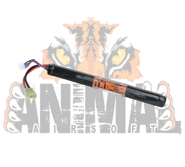 Battery - Valken Energy LiPo 111v 1200mAh 20C LongStick- 20500 ff