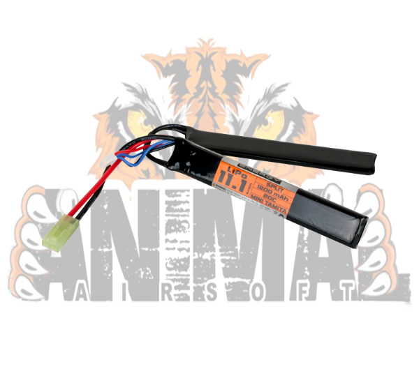 Battery- Valken Energy LiPo 111v 1200mAh 20C Saddle Battery-20500 f